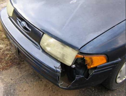 Bumper Damage Repair